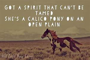 Wild Child- Ken... Horse And Country Quotes