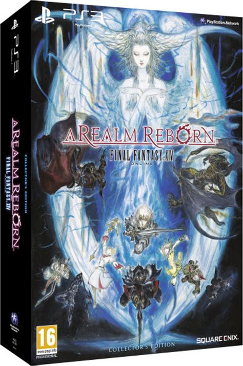 final fantasy xiv  realm reborn collectors edition