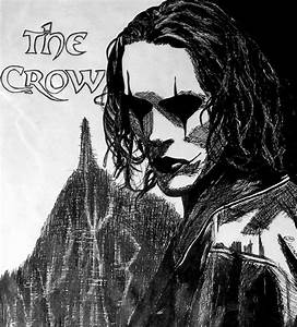 Brandon Lee - The Crow: ink by Jagermeister317 on DeviantArt