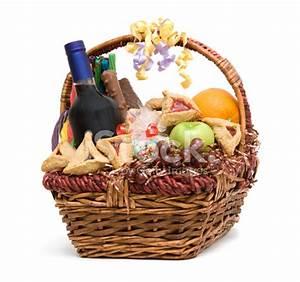 Purim Basket stock photos Free