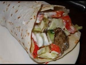Comment Faire Des Tacos Maison : shawarma pita poulet dorum doovi ~ Melissatoandfro.com Idées de Décoration