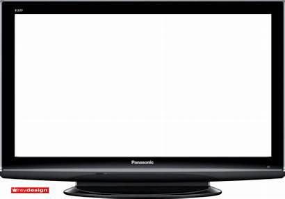 Plasma Transparent Screen Television Flat Clipart Clip