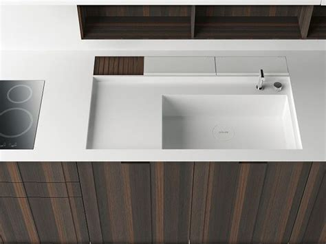 wood and corian the aprile kitchen by boffi