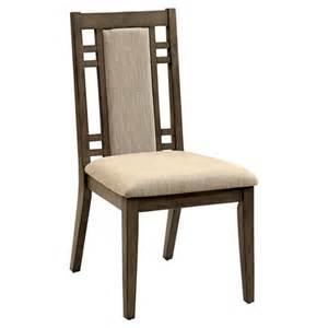 johnson modern padded fabric side dining chair target