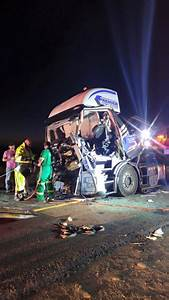 Light Delivery Vehicles South Africa Two Trucks Collided Head On Just Outside Winburg On The N1