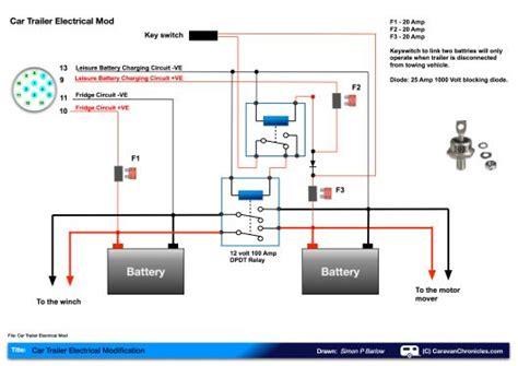Leisure Battery Charging Circuit Diagram Felicitys Board