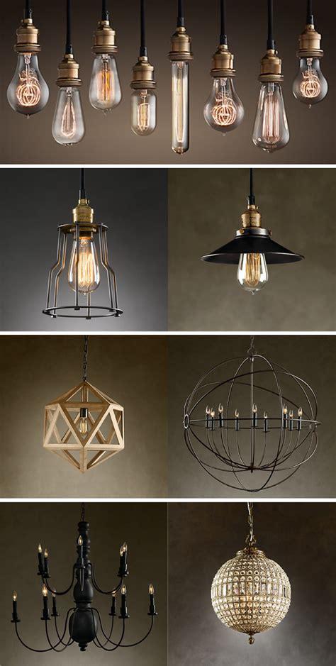 restoration hardware lighting design notations
