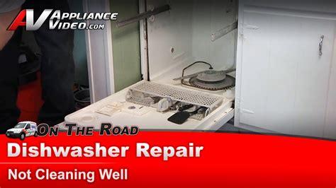whirlpool maytag sears dishwasher repair diagnostic