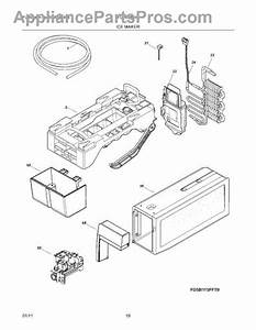 Parts For Frigidaire Fghb2844lf5  Ice Maker Parts