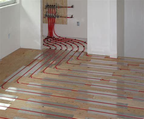pex radiant floor heating design radiant floor heating pex piping infloor heat
