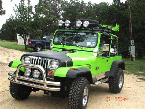 neon purple jeep 93 yj by bob k of boerne texas quadratec