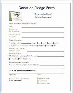 Best 25 donation form ideas on pinterest charitable for Charity pledge form template
