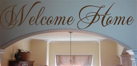 script  home wall decal trading phrases