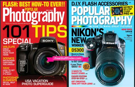 Free Popular Photography Magazine Subscription