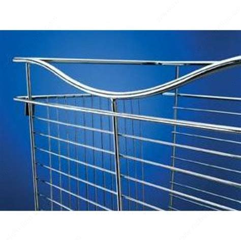 pull out wire basket satin nickel cb241611sn5