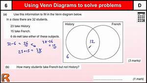 Venn Diagram Gcse Maths Revision Exam Paper Practice  U0026 Help