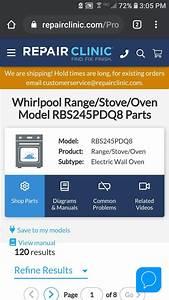 Rbs245pdq8 Oven Tech Sheet