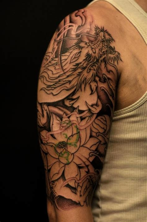 chronic ink tattoos toronto tattoo cover    dragon   bigger dragon  winson