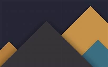 Pattern Material Lollipop Yellow Dark Android Desktop