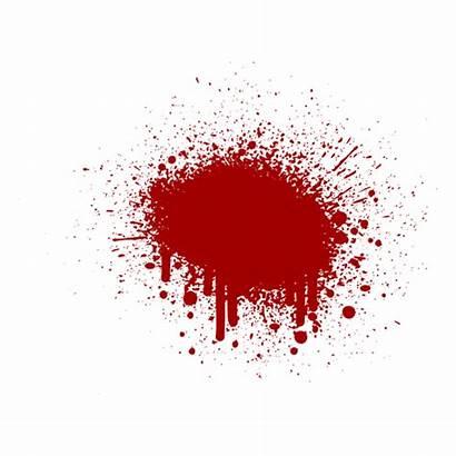 Blood Splash Isolated Transparent Svg Shirt Realistic