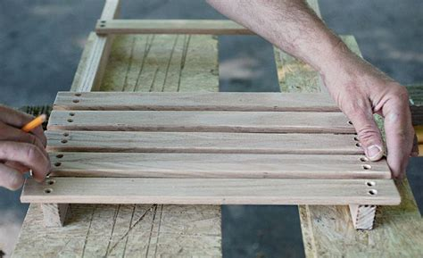 diy wooden camp beach chair cool material