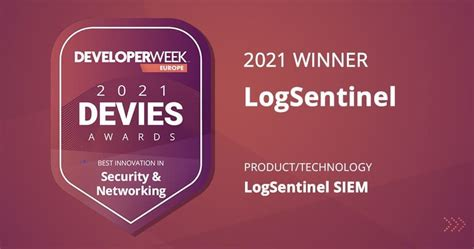 2021 DEVIES Awards: LogSentinel SIEM is the Best Innovation in Security