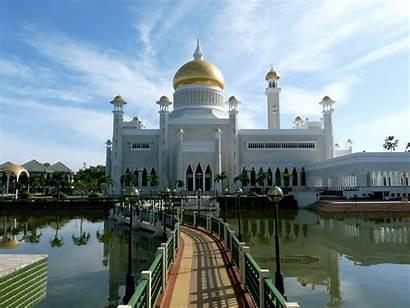 Brunei Tourist Sultan Mosque Ali Omar Saifuddin