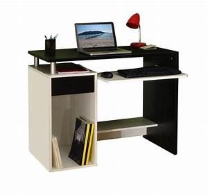 Bureau But Noir : inside75 produits de la categorie bureaux droit en melamine ~ Teatrodelosmanantiales.com Idées de Décoration