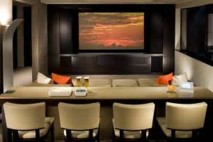Bar Home Theater Room Seating
