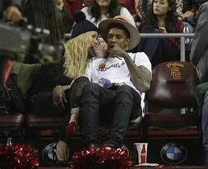Iggy Azalea and her man Nick Young got caught on Kiss Cam ...