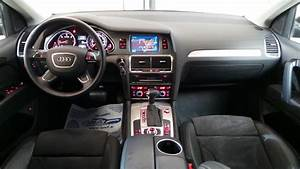 Audi Q7 Interieur : audi q7 3 0 tdi 245ch fap ambition luxe tiptronic 7pl ~ Nature-et-papiers.com Idées de Décoration