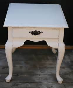 shabby chic end tables shabby chic vintage end table distressed vintage white