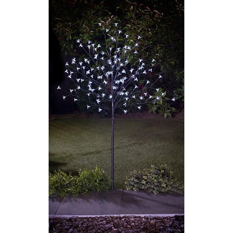 solar powered led solar blossom tree 4ft static