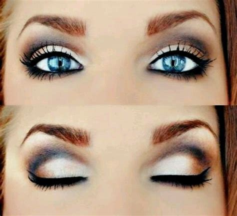 Blue Eyes Beautiful Eye Shadow Color For
