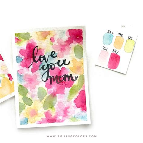We did not find results for: Easy watercolor card idea that you can make quickly for Mother's day