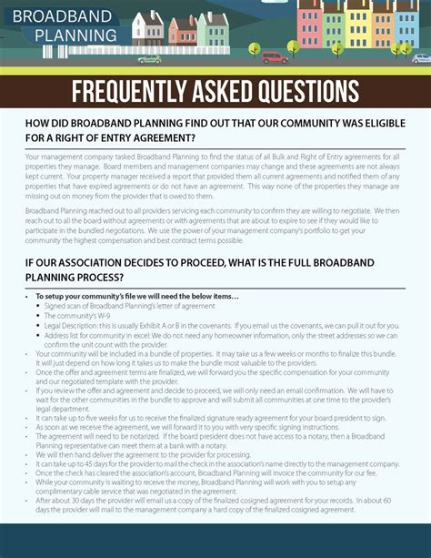 Frequently Asked Questions About The Gnu Faq Broadband Planning