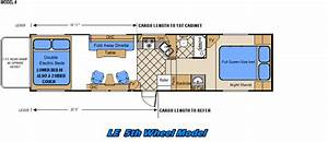 2007 Weekend Warrior Toy Hauler Floor Plans