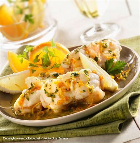 cuisine et vins recettes recette lotte noel