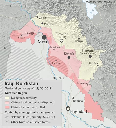 referendum  iraqi kurdistan map political geography
