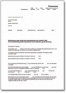 Rücktritt Kaufvertrag Möbel Musterbrief : mieterh hung wegen wegen erhaltungs ~ Lizthompson.info Haus und Dekorationen