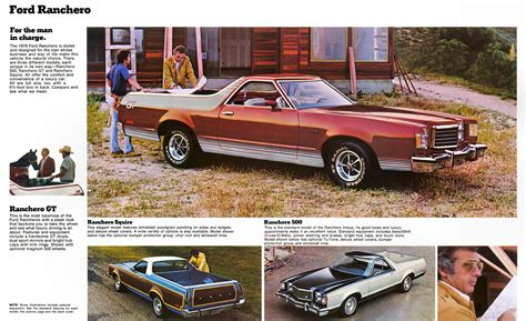 ford ranchero brochure