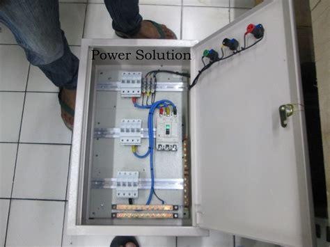 jual panel listrik phase complite  lapak power solution