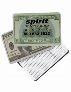 one hundred dollar bill magnetic pocket telephone With address magnets