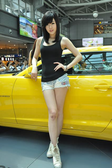 Xxx Nude Girls Hwang Mi Hee At Chevrolet Exhibitions