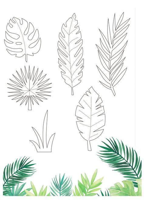 tropical printables  papercraft inspirations