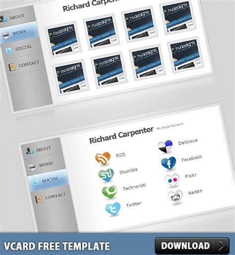vcard template free vcard free psd template free psd in photoshop psd psd