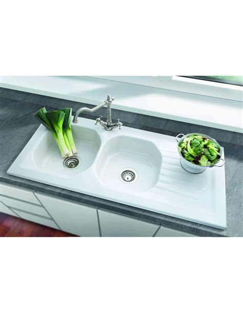 villeroy and boch kitchen sink villeroy boch ravel ceramic kitchen sink large 8817