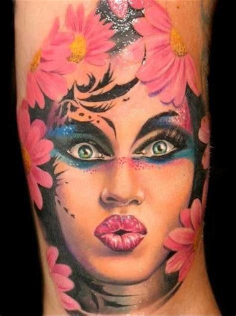 tattoos-for-women-girl face - Tattoo Models, Designs ...