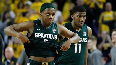 college basketball rankings michigan state   top