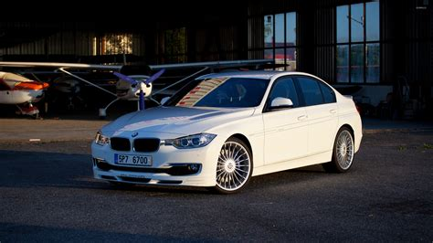White Alpina Bmw 3 Series Wallpaper
